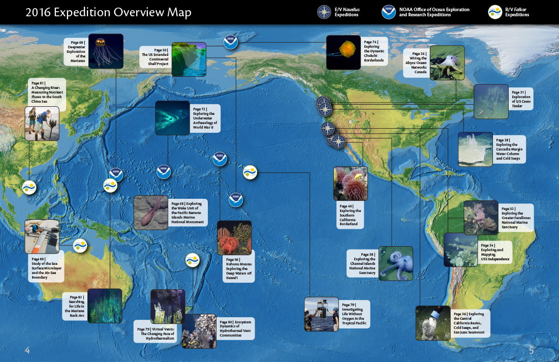 2016 Expedition Overview Map